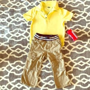 Gymboree and Old Navy Polo and Pants